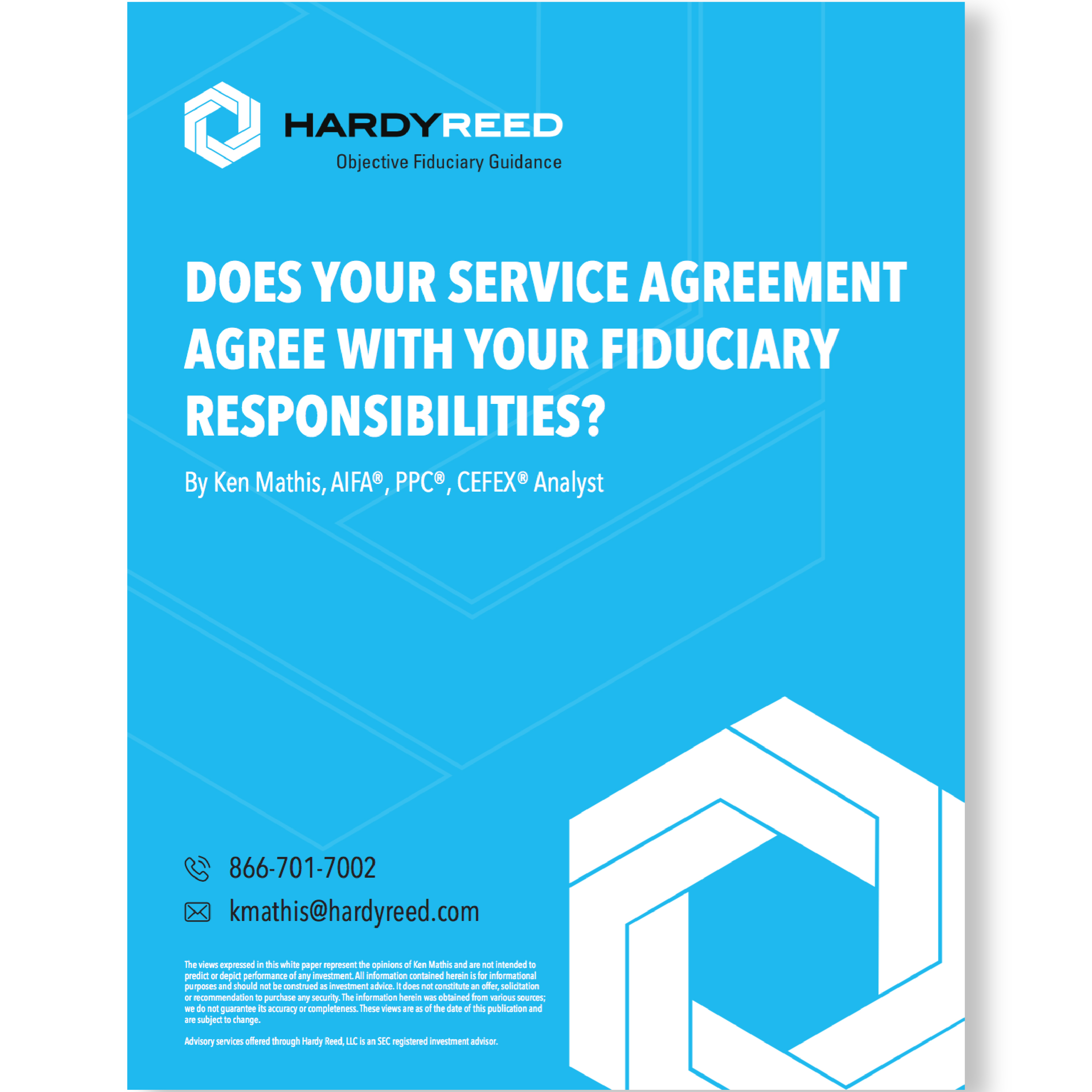 Does your service agreement agree with your fiduciary does your service agreement agree with your fiduciary responsibilities hardy reed platinumwayz